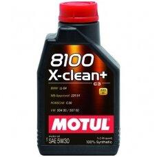 Variklinė alyva 5W30 MOTUL 8100 X-CLEAN+ 1L