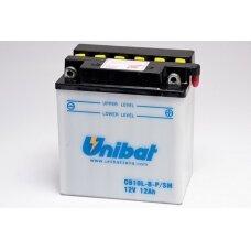 Akumuliatorius Unibat 12V 11AH -+ 160A 135x90x145mm