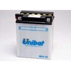 Akumuliatorius Unibat 12V 14AH +- 190A 134x89x166mm