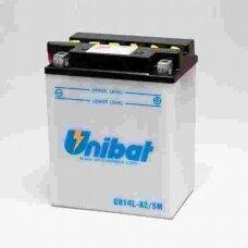 Akumuliatorius Unibat 12V 14AH -+ 190A 134x89x166mm