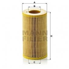 Alyvos filtras MANN-FILTER HU 718/1 N