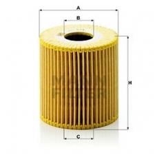 Alyvos filtras MANN-FILTER HU 819 X