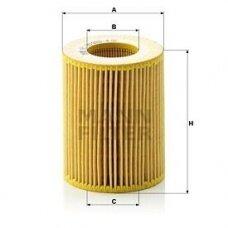 Alyvos filtras MANN-FILTER HU 925/4 Y