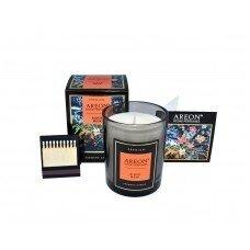 Aromatinė žvakė BLACK MUSK AREON