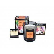Aromatinė žvakė GOLD AMBER AREON