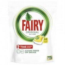 Automatinių indaplovių kapsulės FAIRY All in 1 Lemon, 44 vnt.
