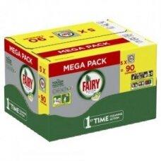 Automatinių indaplovių kapsulės FAIRY All in 1 Platinum Lemon Megabox, 90 vnt.