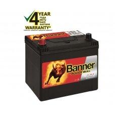 Banner 60 Ah 510A +- 12V Power akumuliatorius 233x173x203x225mm