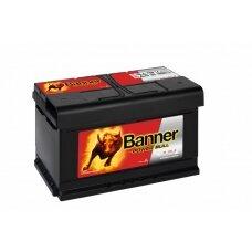 Banner 80Ah 700A 12V Power Bull akumuliatorius 315x175x175x175mm