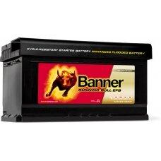 Banner EFB 75Ah 730A akumuliatorius 12V 315X175X175mm