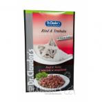 DR. CLAUDER'S drėgnas maistas katėms su jautiena ir kalakutiena drebučiuose