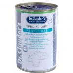 DR. CLAUDER'S Special Diet High Fibre specializuotas drėgnas maistas šunims, sergantiems diabetu 400g