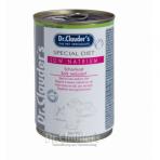 DR. CLAUDER'S Special Diet Low Natrium specializuotas drėgnas maistas širdies ir kepenų problemų turintiems šunims 400g