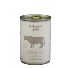DR. CLAUDER'S BARF mėsos ir daržovių konservai šunims su jautiena 400g