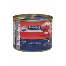 DR. CLAUDER'S drėgnas maistas šunims su jautiena ir prebiotikais 200g