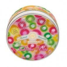 """Drėkinamasis kūno jogurtas """"DOLCE VITA"""" Saules Fabrika, 200 g"""