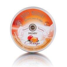 """Drėkinamasis kūno jogurtas """"MANGO"""" Saules Fabrika, 200 g"""