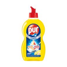 Indų ploviklis PUR Duo Power Lemon, 450 ml
