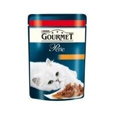 Konservuotas kačių ėdalas GOURMET Perle, su jautiena, 85 g