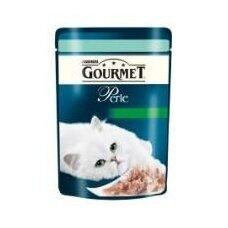 Konservuotas kačių ėdalas GOURMET Perle, su upėtakiu ir špinatais, 85 g