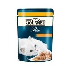 Konservuotas kačių ėdalas GOURMET Perle, su vištiena, 85 g