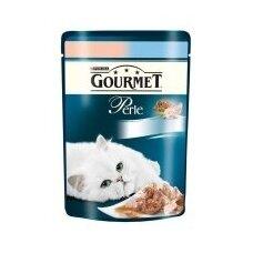 Konservuotas kačių ėdalas GOURMET Perle, su žuvimi, 85 g