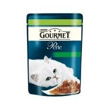 Konservuotas kačių ėdalas GOURMET Perle, su žvėriena ir daržovėmis, 85 g