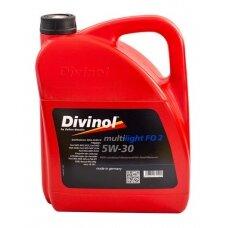 Multilight DIVINOL FO 2 SAE 5W30 5 l, ACEA A5/B5, WSS-M2C-913 D