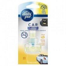 Oro gaiviklio automobiliams pakeitiklis AMBI PUR Car Citrus Anti-tobacco, 7 ml