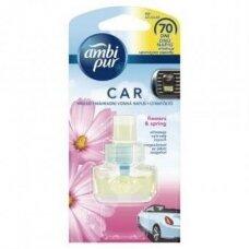 Oro gaiviklio automobiliams pakeitiklis AMBI PUR Car Flowers, 7 ml