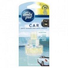 Oro gaiviklio automobiliams pakeitiklis AMBI PUR Car Ocean & Mist, 7 ml