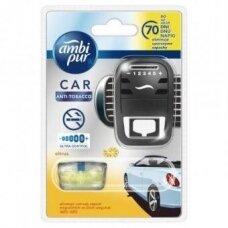 Oro gaiviklis automobiliams AMBI PUR Car Citrus Anti-tobacco, 7 ml