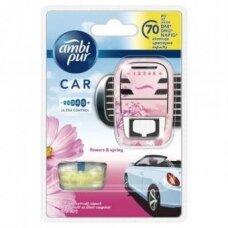 Oro gaiviklis automobiliams AMBI PUR Car Flowers, 7 ml