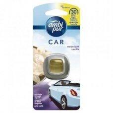 Oro gaiviklis automobiliams AMBI PUR Car Moonlight Vanilla 2 ml LV