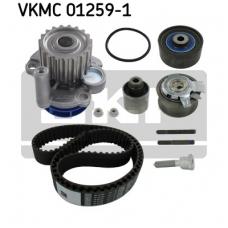 Pagrindinio diržo komplektas su vandens siurbliu SKF VKMC 01259-1