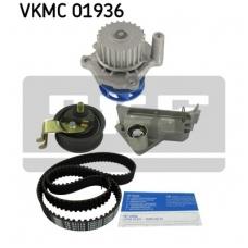 Pagrindinio diržo komplektas su vandens siurbliu SKF VKMC 01936