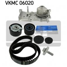 Pagrindinio diržo komplektas su vandens siurbliu SKF VKMC 06020
