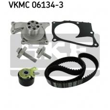 Pagrindinio diržo komplektas su vandens siurbliu SKF VKMC 06134-3