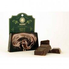 """Rankų darbo muilas """"Chocolate"""" Saules Fabrika, 80 g"""