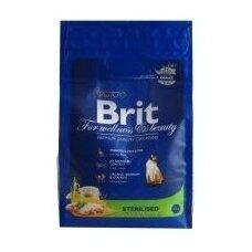 Sausas ėdalas katėms BRIT Cat Sterilized, 1,5 kg