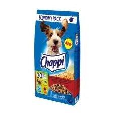 Sausas ėdalas šunims CHAPPI, su jautiena ir paukštiena, 13,5 kg