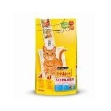 Sausas kačių ėdalas FRISKIES, su lašiša, daržovėmis, 1,5 kg