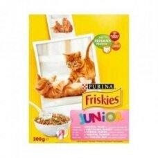 Sausas kačiukų ėdalas FRISKIES Junior, 300 g