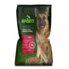 Sausas šunų ėdalas APORT, su jautiena, 10 kg