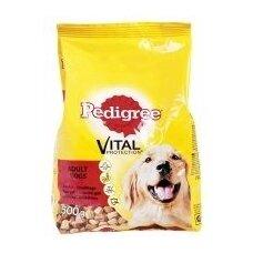 Sausas šunų ėdalas PEDIGREE Medium, su paukštiena, ir jautiena 2,6 kg