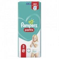 Sauskelnės PAMPERS Pants, JP, 5 dydis 12 - 17 kg, 48 vnt.