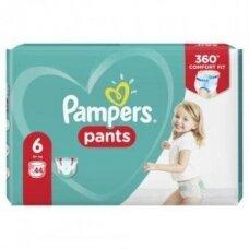 Sauskelnės PAMPERS Pants. JP, 6 dydis 15+ kg, 44vnt