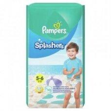 Sauskelnės PAMPERS Pants Splashers, 5 dydis 14+ kg, 10 vnt.