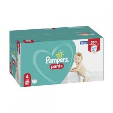 Sauskelnės PAMPERS Pants Mega Box ,4 dydis, 9-15 kg, 104vnt