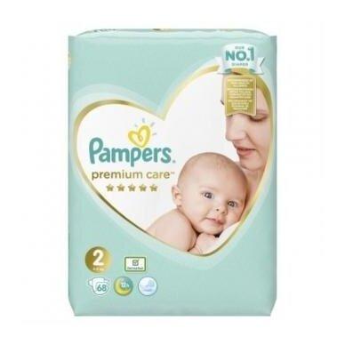 Sauskelnės PAMPERS Premium Care, Value Pack 2 dydis, 68 vnt.